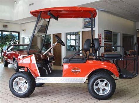 harley davidson golf carts  harley golf cart parts
