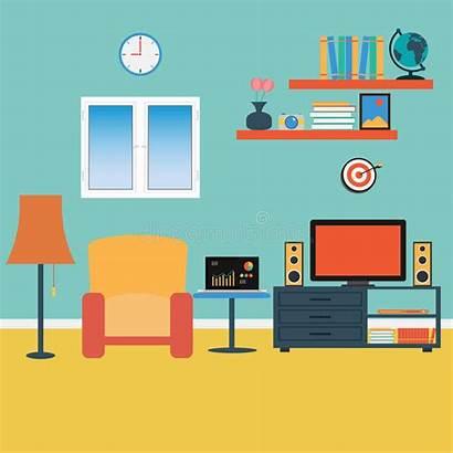Living Vector Sofa Clip Couch Windows Illustration