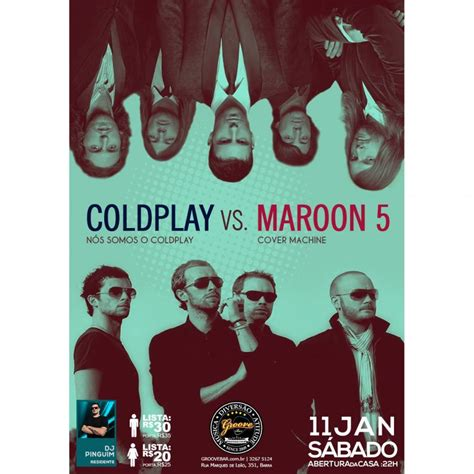 maroon 5 vs coldplay live festa versus coldplay vs maroon 5 deejaypinguim
