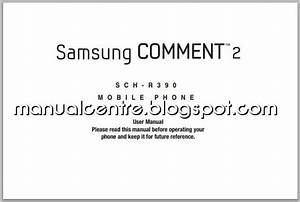 Samsung Comment 2 Manual