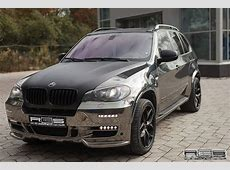 BMW X5 Gets Chrome Wrap and Hamann Goodies in Russia