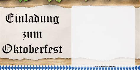 einladung einladungskarten oktoberfest ausdrucken