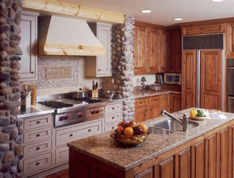fotos de cocinas estilo rustico colores en casa