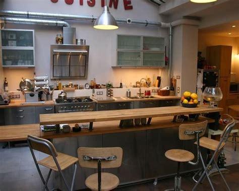 cuisine avec ilot central et bar modele cuisine avec ilot central table kirafes