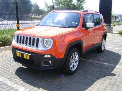 jeep renegade orange 2017 2017 orange jeep renegade 1 4l t limited r 379 900 for