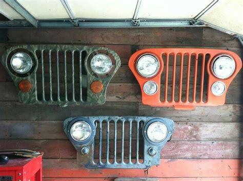 jeep grill art gotta love that 7 slot grill jeep life