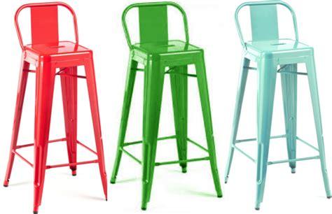 chaise de bar tolix tolix bar stool h80 h90 café retro pauchard replica diiiz