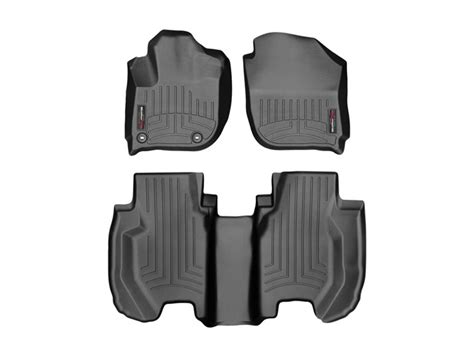 weathertech floor mats honda fit weathertech floor liners mats for the 2015 16 honda fit