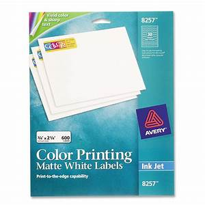 printer With avery 8257 template