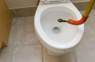unclogging a toilet thriftyfun
