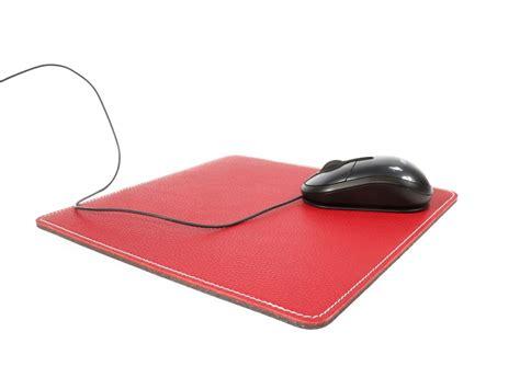 souris bureau tapis souris en cuir sous cuir