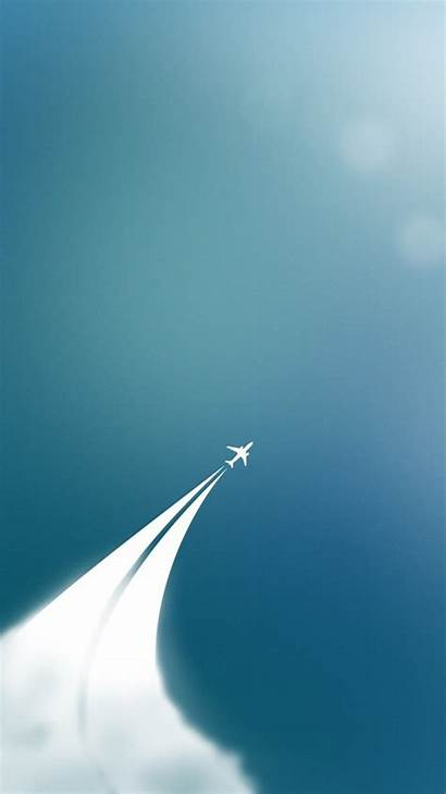 Minimalist Simple Iphone Wallpapers Phone Plane Backgrounds