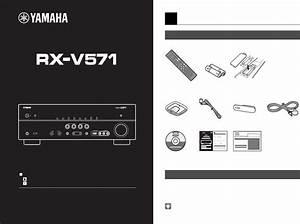 User Manual Yamaha Rx
