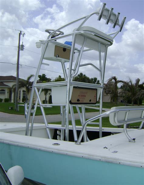 Skiff With Tower by Skiff With A Cobia Tower Dumb Idea The Hull
