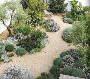 Jardin sur gravier jardin mediterraneen jardin sec for Jardin mediterraneen 2