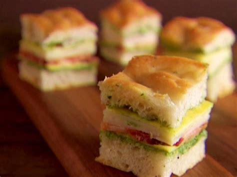 mini italian club sandwiches recipe giada de laurentiis