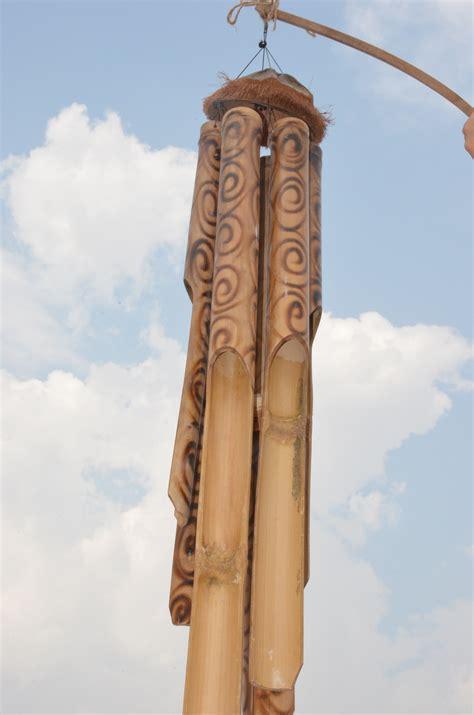 large bamboo wind chimes wind chimes large bamboo windchimes shopping 6782