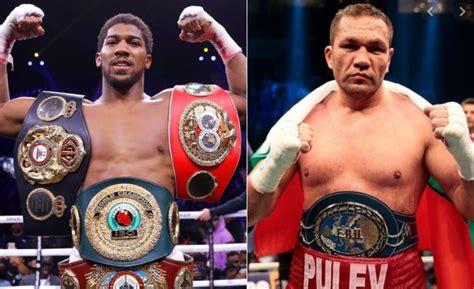 Anthony Joshua vs Kubrat Pulev Undercard Fights (Confirmed)
