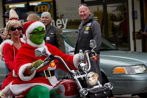 How The Grinch Stole A Harley!