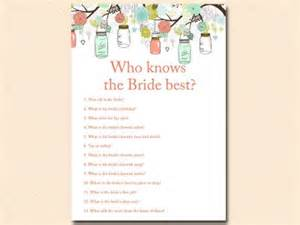 Words Of Wisdom For Baby Shower by Mint And Coral Mason Jars Bridal Shower Games Download