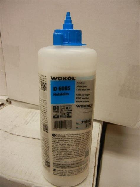 WAKOL D 6085 Tongue and Groove Glue   Carolina Floor Covering