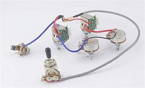 epiphone les paul pro wiring harness coil split push pull reverb