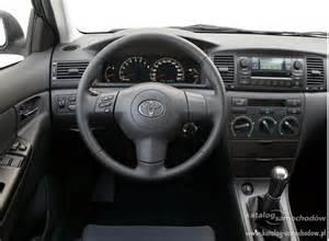 toyota corolla 2009 hatchback toyota corolla ix sedan 1 4 vvt i katalog samochodów