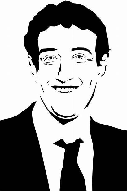 Zuckerberg Mark Stencil Hq Freepngimg