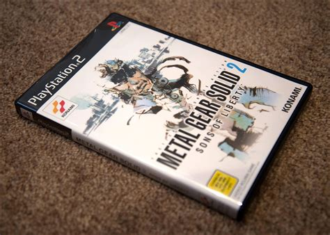 Close Up Metal Gear Solid 2 Sons Of Liberty Premium