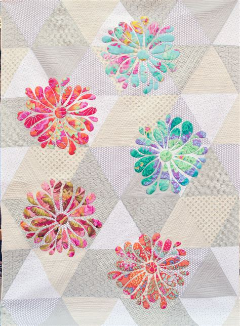 applique quilt pattern my flower bloom applique quilt pattern at passionately
