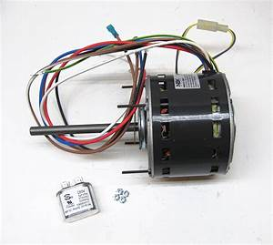Furnace Air Handler Blower Motor 1  3 Hp 1075 Rpm 115 Volt 3 Speed For Fasco D727 696524000512