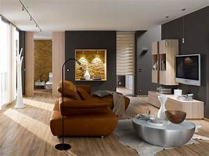 Wandfarbe Für Wohnzimmer : steinwand im wohnzimmer 30 inspirationen von klimex ~ One.caynefoto.club Haus und Dekorationen