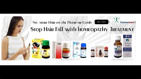 Top 5 Homeopathic remedies for hair loss from SBL