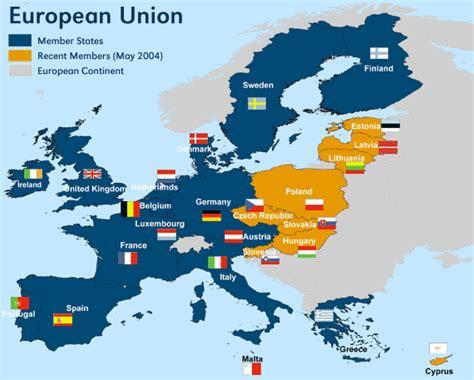 european union map travelquazcom
