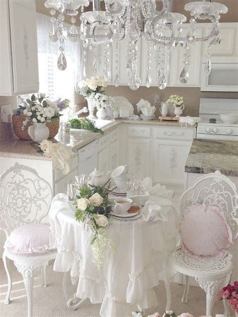 sweet shabby chic kitchen decor ideas shelterness