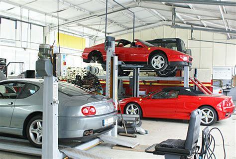 Auto Garage Stuttgart by Autohaus Michel Weber Mg Rover Oldtimer Garage