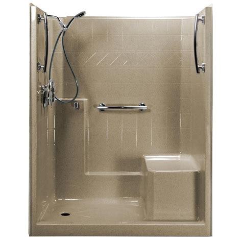 shower kit ella freedom chrome v 60 in x 33 in x 77 in 1 low