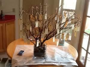 Wedding Reception Wishing Tree