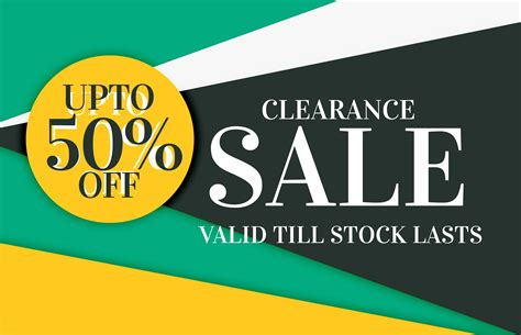 modern sale and discount card banner design with offer ...