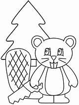 Beaver Coloring Animals Animal Cartoon Coloringpages1001 Picgifs Advertisement Popular sketch template