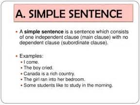 simple sentence a simple sentence a simple