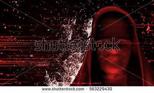 3d Render Computer Theme Background Anonymous Stock ...