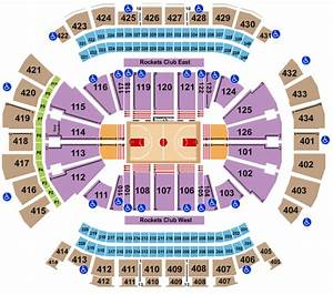 Vivid Seats Seating Chart Toyota Center Seating Chart Rows Seat Numbers And Club