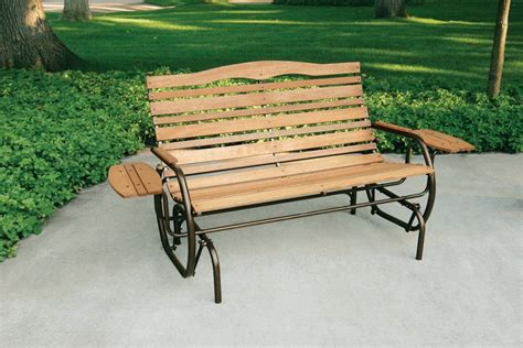 outdoor glider bench how to build a porch glider ebay