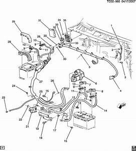 Chevrolet Silverado 2500 Cable  Battery  Positive   Cable