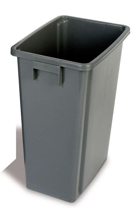 Plastic 60 L 60 Litre Recycling Bin Grey Slim Jim