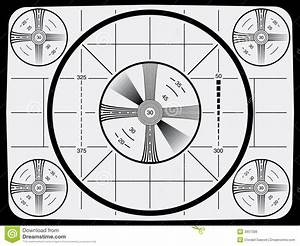 Television Test Pattern Stock Vector  Illustration Of