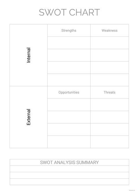 swot chart template  microsoft word templatenet