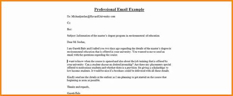 sle professional email professional email template