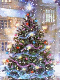kumpulan ucapan natal merry christmas pohon natal bergerak